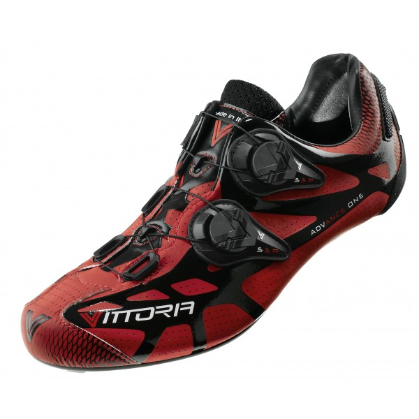 Vittoria - Ikon cycling shoes - red