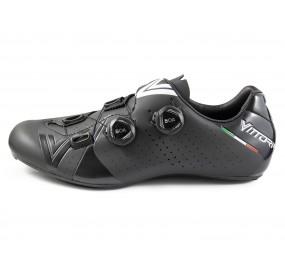 Vittoria Stelvio Road Cycling Shoes Argent//Noir